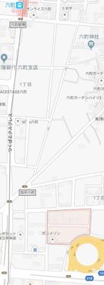 【地図】エクシリア北綾瀬