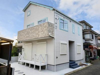 おしゃれな外観です 吉川新築ナビで検索
