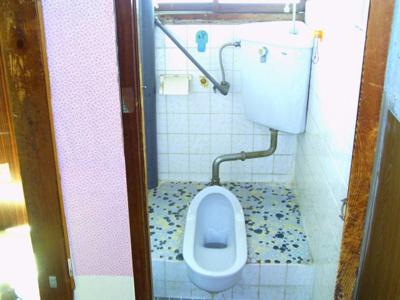 南側で明るいトイレ
