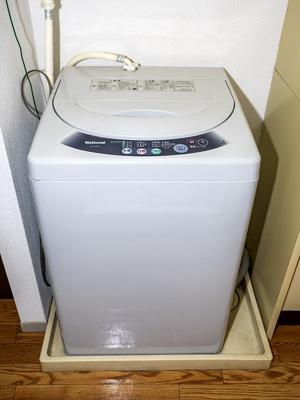 洗濯機付です。