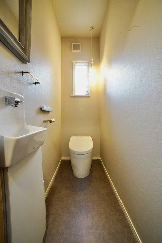 【トイレ】須恵築浅平屋注文住宅