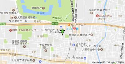 【地図】アーデン森之宮