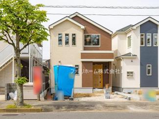 習志野市袖ケ浦 新築一戸建 ※令和3年5月現地撮影写真です。