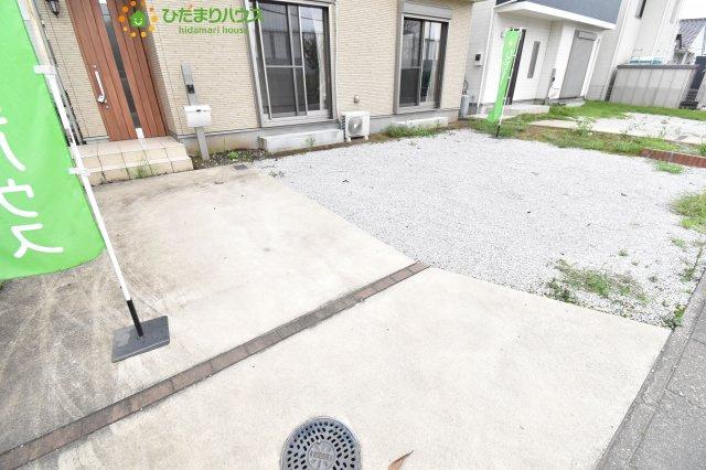 並列3台駐車可能な駐車場♪