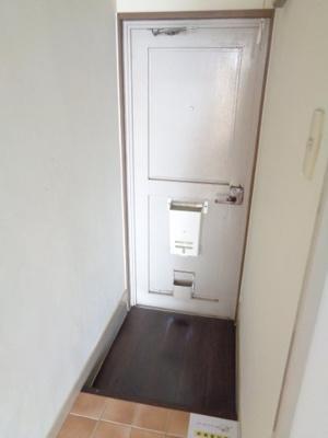 【玄関】名倉アパートA