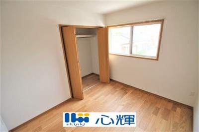 いずれの部屋も収納スペースを多く確保しました。