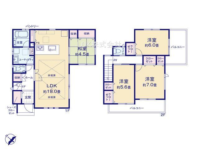 新築戸建/富士見市関沢3丁目(全1棟)