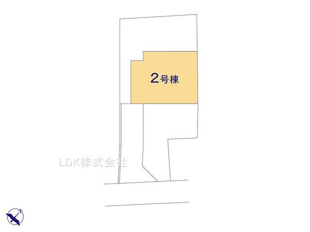 【区画図】新築戸建/富士見市関沢3丁目(全1棟)