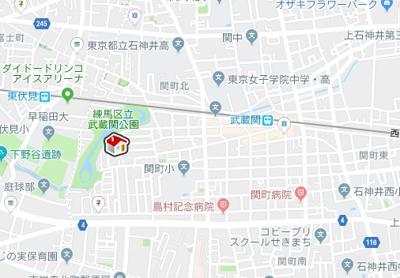 【地図】レオネクストアリアーレ(45795-105)