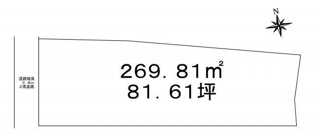 【土地図】三木市本町 1号地