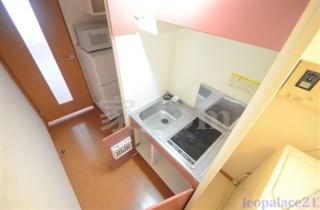 【キッチン】レオパレスメルベージュ(34832-103)