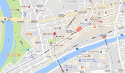 【地図】チェリーヒルズ