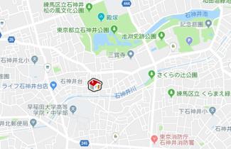 【地図】レオパレスアザレーア(40093-104)
