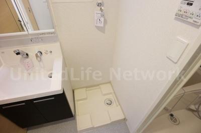 洗濯機は室内に設置出来ます