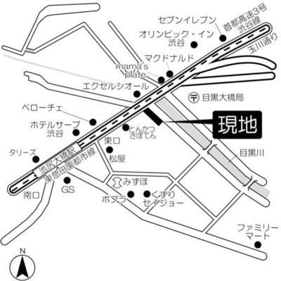 【地図】ブリーズヴェール東山