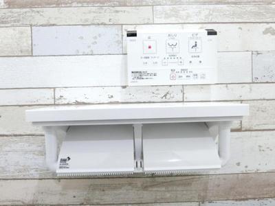 ウォシュレット機能付きトイレです。