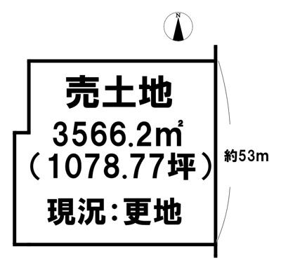【外観】売土地 広陵町三吉