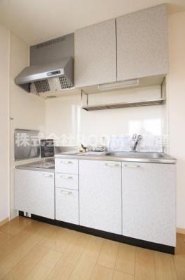 【キッチン】フローラルビレッジ Ⅰ番館