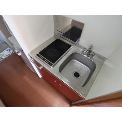 【キッチン】レオパレス若宮北