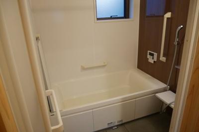 【浴室】津山市勝間田町 1LDK戸建賃貸