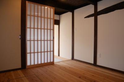 【居間・リビング】津山市勝間田町 1LDK戸建賃貸