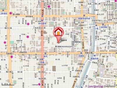 【地図】アビィロードハウス