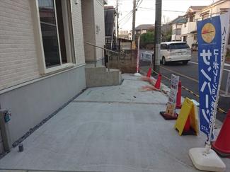 【駐車場】江戸川区東葛西4丁目新築戸建て