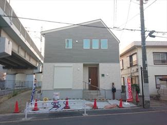 【外観】江戸川区東葛西4丁目新築戸建て
