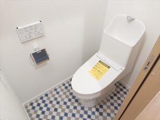 【トイレ】江戸川区東葛西4丁目新築戸建て