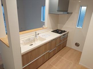 【キッチン】江戸川区東葛西4丁目新築戸建て