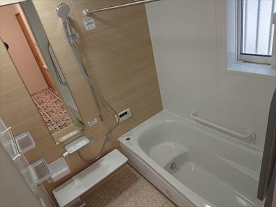 【浴室】江戸川区東葛西4丁目戸建て
