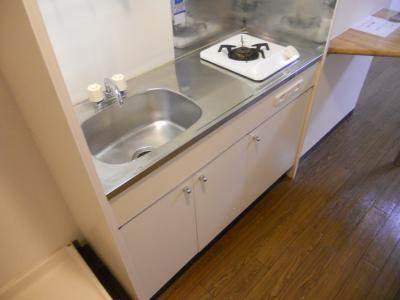 ガス1口キッチン