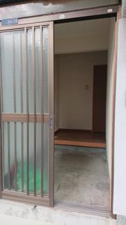 【玄関】沖田テラスハウス
