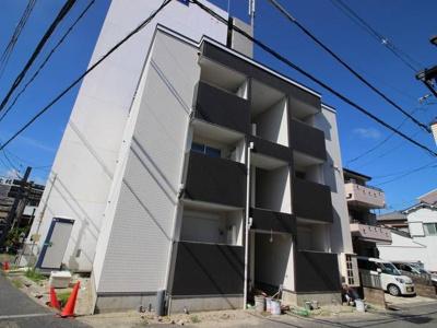 【外観】大阪学院大学も近く、学生マンションとしての需要も◎
