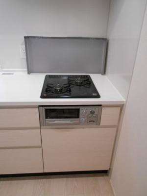 グリル付きキッチン