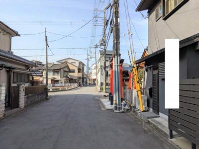 【前面道路含む現地写真】京都市伏見区平戸町