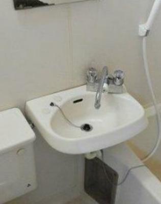 【洗面所】ハウスコートジュマ