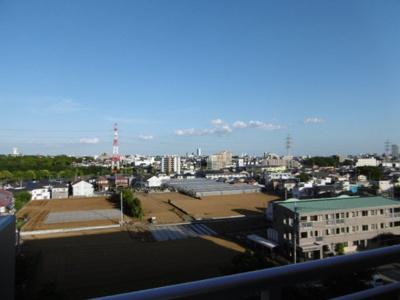 【展望】グローバル・ガーデン・シティA棟