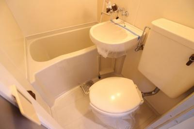 【浴室】ガレッジハイツⅡ