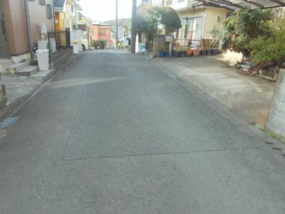 【前面道路含む現地写真】町田市下小山田町土地