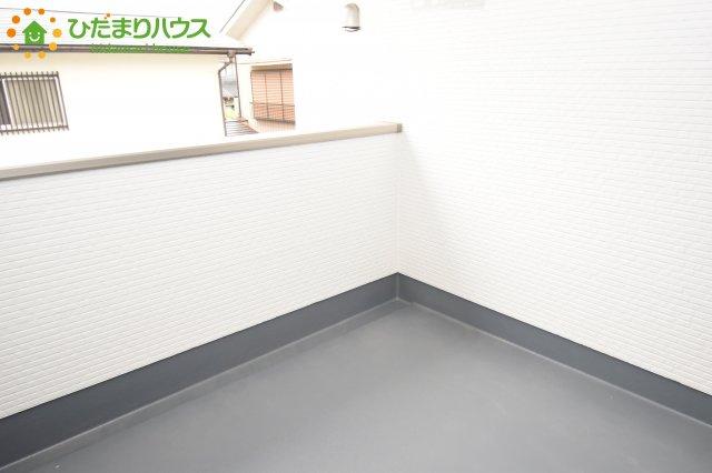 【バルコニー】川島町中山 新築一戸建て 01