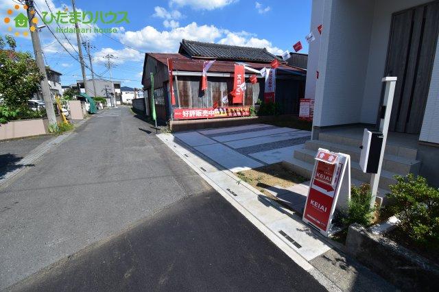 【前面道路含む現地写真】川島町中山 新築一戸建て 01