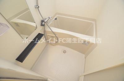 【浴室】グランカリテ大阪城EAST