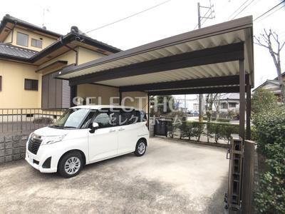 【駐車場】竜美東戸建借家