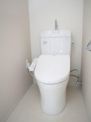清潔感のあるお手洗いです(^^)/