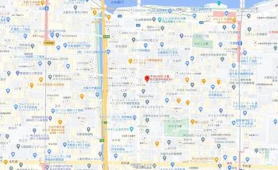 【地図】T's kitahama