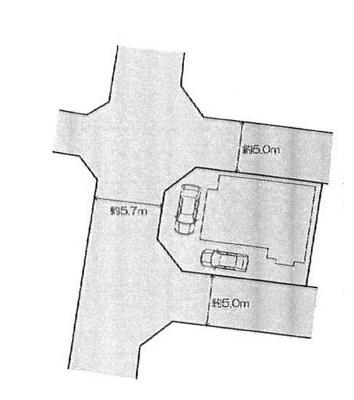 【区画図】高崎市下之城町中古住宅