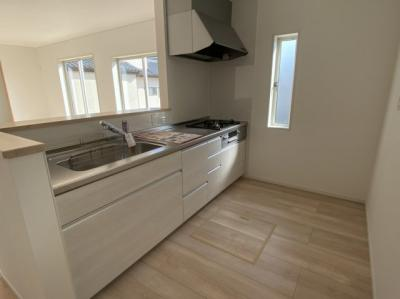 【キッチン】大村市諏訪1丁目 クレイドルガーデン諏訪第1 新築建売住宅