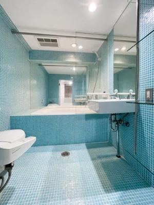 最上階共用部分からは東京タワーが見えます。