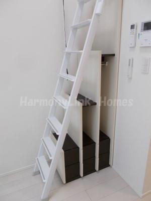 ハーモニーテラス高田馬場の梯子下収納